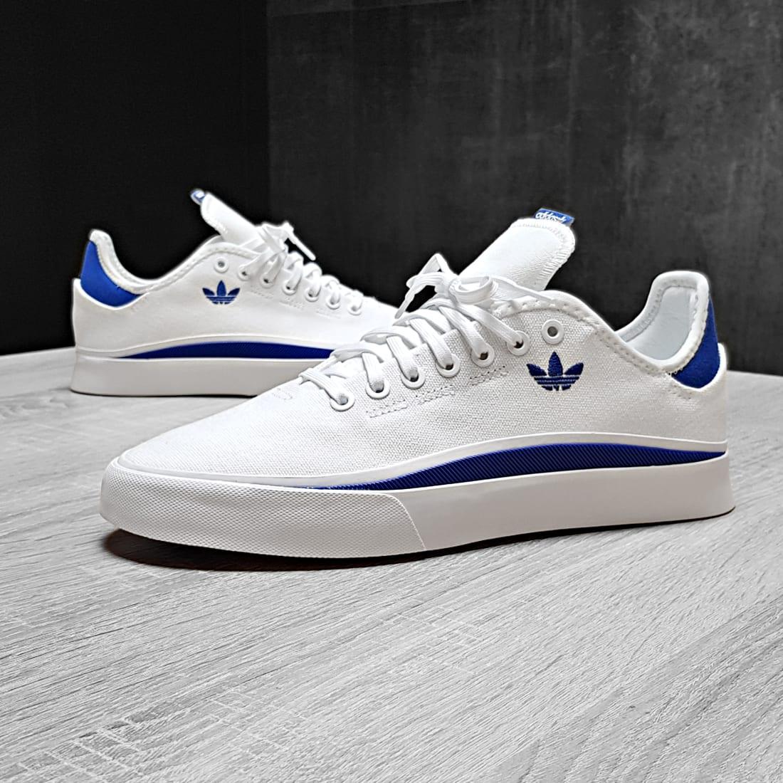 adidas - Baskets Sabalo FV0689 Footwear White Royal Blue ...