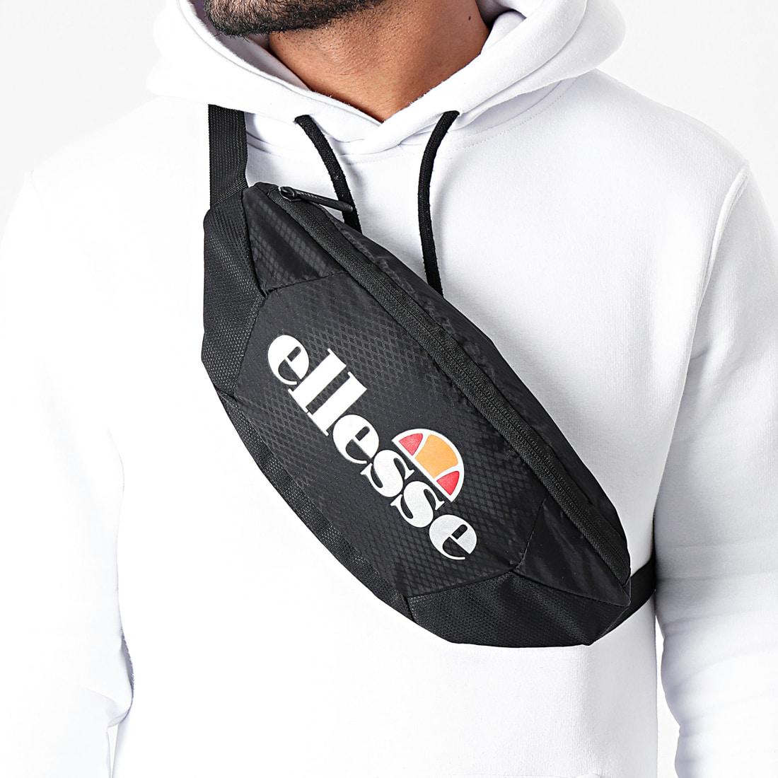 Ellesse Avillo Bum Bag Sac Banane Unisexe pour Adulte Noir Taille Unique