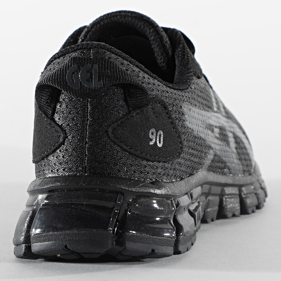 Asics - Baskets Enfant Gel Quantum 90 GS 1204A010 Black ...
