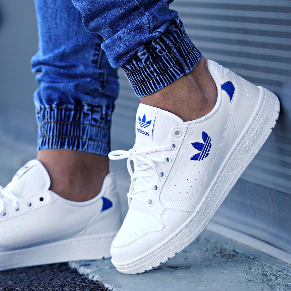adidas - Baskets NY 90 FZ2247 Footwear White Royal Blue ...