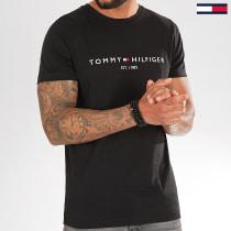 Tee Shirt Core Tommy Logo 1465 Noir