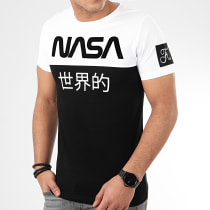 Tee Shirt Japan Exploration Avec Patch 340 Noir Blanc