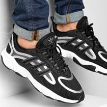 Baskets Haiwee EG9571 Core Black Grey Six Footwear White