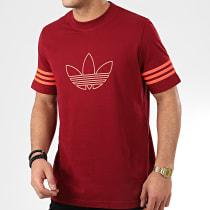 Tee Shirt Outline FM3898 Bordeaux