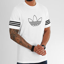 Tee Shirt Outline FM3894 Blanc