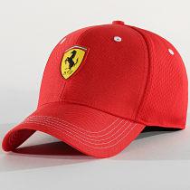 Casquette Baseball Ferrari Fanwear Rouge