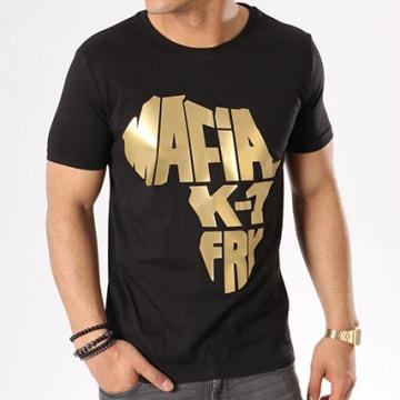 Mafia K1 Fry - Tee shirt Mafia K1 Fry Classic Noir Logo Gold