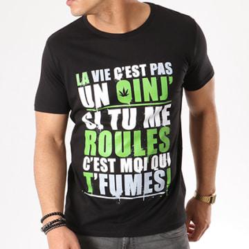 Y et W - Tee Shirt Guizmo Oinj Noir Vert