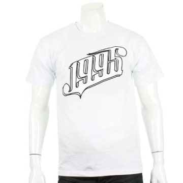 1995 - Tee Shirt All White Blanc
