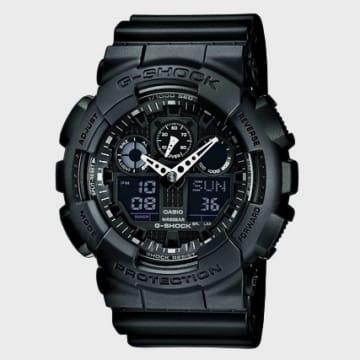 Casio - Montre G-Shock GA-100-1A1ER Noir