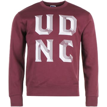 Sweat Crewneck 1995 UDNC Bordeaux