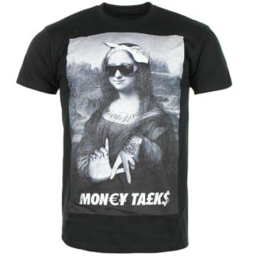 Classic Series - Tee Shirt Money Talks Joconde Noir
