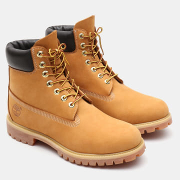 Boots Icon 6 Inch Premium Boot 10361 Wheat Waterbuck Camel