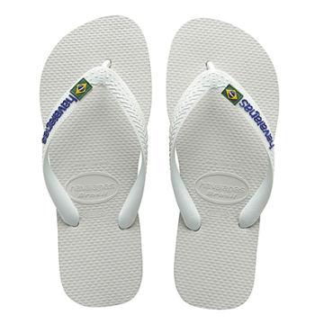 Havaianas - Tongs Brasil Logo Blanc