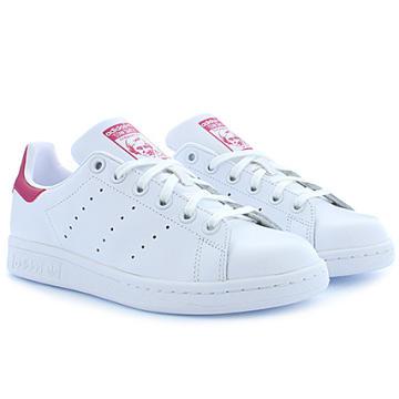 Adidas Originals - Baskets Femme Stan Smith B32703 Footwear White Bold Pink