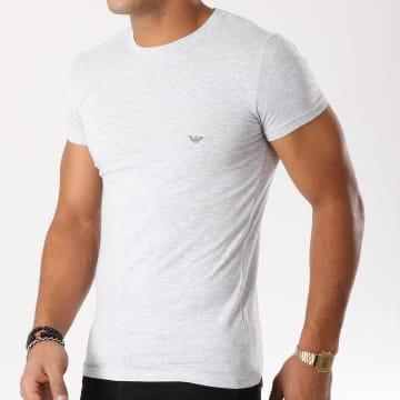 Emporio Armani - Tee Shirt 111035 CC729 Gris Chiné