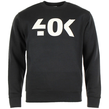 40K Gang - Sweat Crewneck 40K Classic Noir