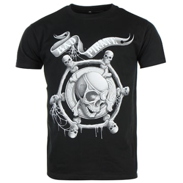 Neochrome - Tee Shirt Seth Gueko Bad Pirate Noir