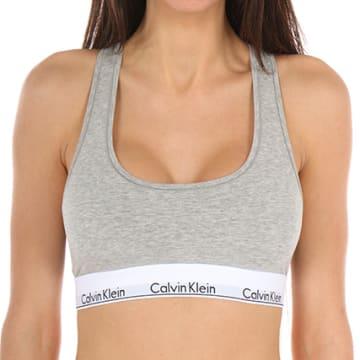 Calvin Klein - Brassière Femme F3785E Gris Chiné
