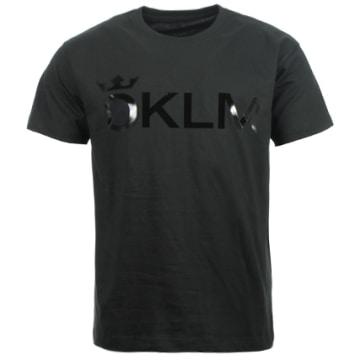 OKLM - Tee Shirt Classic Logo Noir Typo Noir