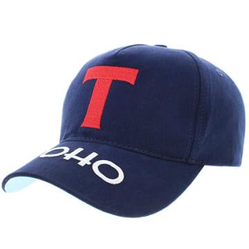 Okawa Sport - Casquette Baseball Strapback Olive Et Tom Toho Bleu Marine