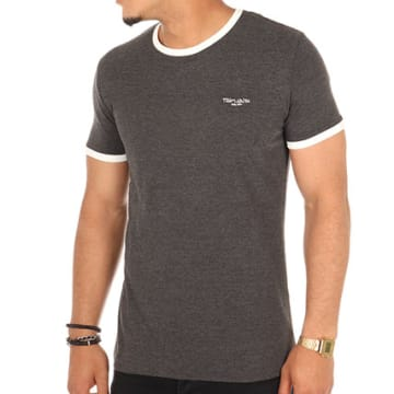 Teddy Smith - Tee Shirt The Gris Anthracite