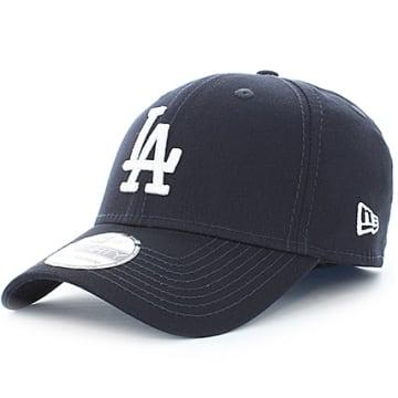 New Era - Casquette 39Thirty League Basic Los Angeles Dodgers Bleu Marine Blanc