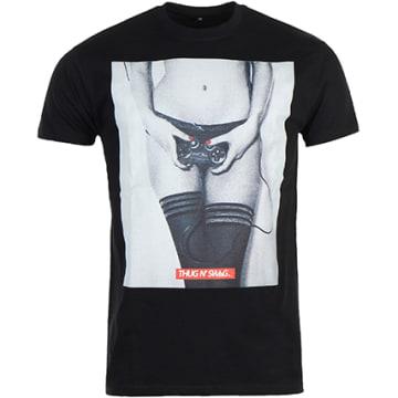 Thug N Swag - Tee Shirt Controller Noir