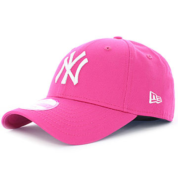 New Era - Casquette Baseball Femme Fashion Essential 9Forty New York Yankees Rose
