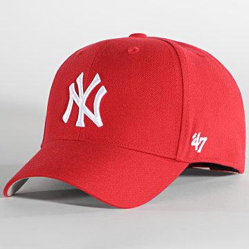 '47 Brand - Casquette Baseball Melvin New York Yankees Rouge