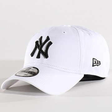 New Era - Casquette Baseball 9Forty League Basic New York Yankees Blanc