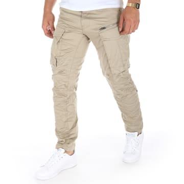 G-Star - Pantalon Cargo Rovic Zip 3D Beige