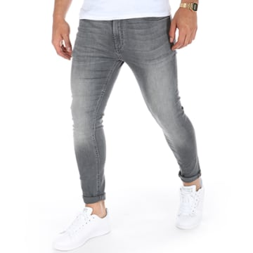 Jack And Jones - Jean Skinny Liam Original AM 010 Gris