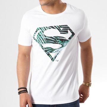 Tee Shirt Logo Leaf Blanc