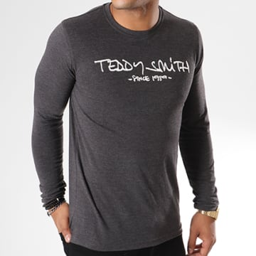 Tee Shirt Manches Longues Ticlass 3 Gris Anthracite