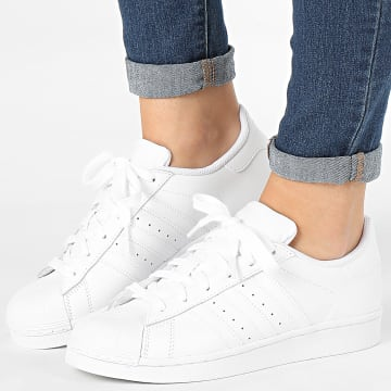 Adidas Originals - Baskets Femme Superstar Foundation J B23641 Footwear White