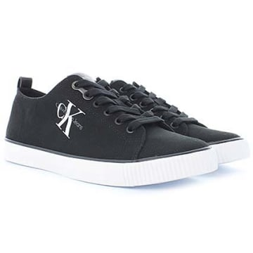 Calvin Klein - Baskets Arnold Canvas Noir
