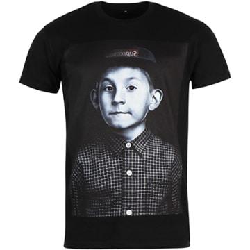 Thug N Swag - Tee Shirt Dewey Cap Noir
