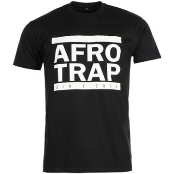 Tee Shirt Afro Trap Noir