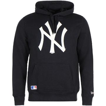Sweat Capuche PO New York Yankees Bleu Marine