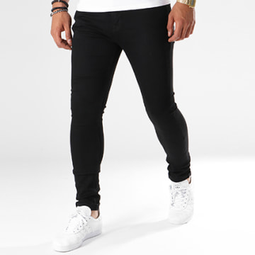Jack And Jones - Jean Skinny Liam Original 009 Lid Noir