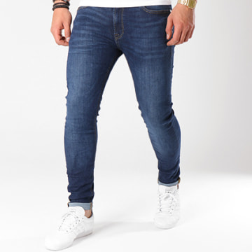 Jack And Jones - Jean Skinny Liam Original AM 014 Lid Bleu Denim