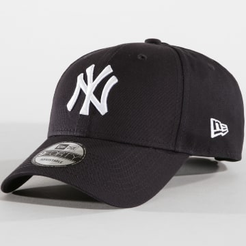 New Era - Casquette Baseball 940 League Basic New York Yankees Bleu Marine Blanc