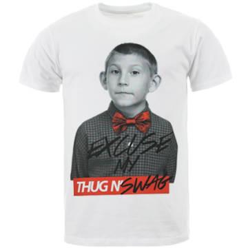 Thug N Swag - Tee Shirt Dewey Blanc