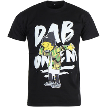 Thug N Swag - Tee Shirt Dab Noir