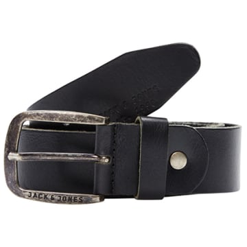 Jack And Jones - Ceinture Paul Leather Noir