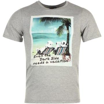 Star Wars - Tee Shirt MESWSTOTS078 Gris Chiné