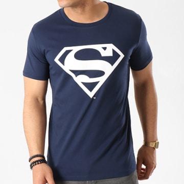DC Comics - Tee Shirt Logo Bleu Marine
