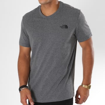 Tee Shirt Simple Dome Gris Anthracite