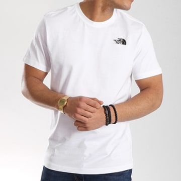 The North Face - Tee Shirt Simple Dome Blanc